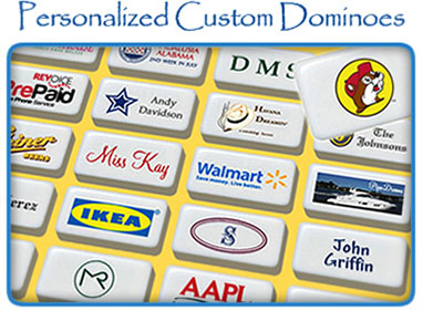 Personalize Your Dominoes Today!